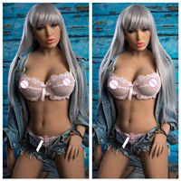 160cm Real Sex Robot Dolls Big Breast Ass Silicone Sex Doll.