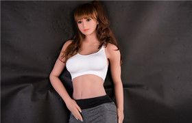 167cm Full Size Silicone Sex Doll Realistic TPE Japanese Love Doll .