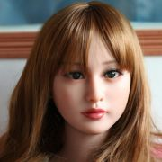 quality sex doll head for silicone adult dolls.