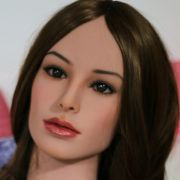 Real sex dolls silicone head for real size doll 126cm, sex toys, sex product for men