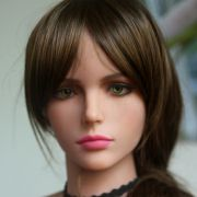 WMDOLL #51 Top quality realistic sex dolls head for real doll, oral silicone adult dolls heads sex toys for men