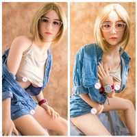 158cm Real Silicone Anime Sex Doll Adult Love Doll Lifelike TPE Sex Robot Doll.