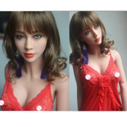 Premium 163cm Top quality Tan skin janpanse real doll, full size silicone sex doll love doll.